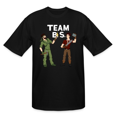 teambs-caglee-white - Men's Tall T-Shirt