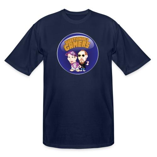 Questionable Gamers Shirt png - Men's Tall T-Shirt