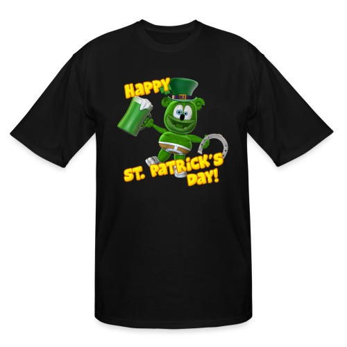 Gummibär (The Gummy Bear) Saint Patrick's Day - Men's Tall T-Shirt