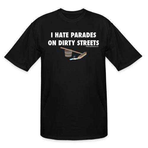 13 Parades white lettering - Men's Tall T-Shirt