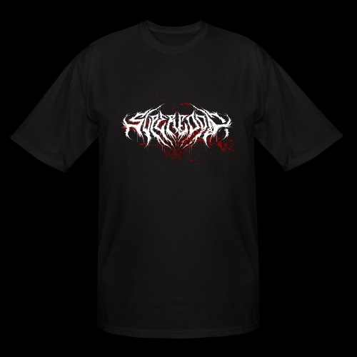 Supercool! Logo REVAMPIRED [BLOODY WHITE] - Men's Tall T-Shirt