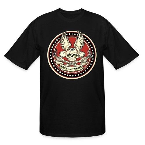 Brush With Death - Men's Tall T-Shirt