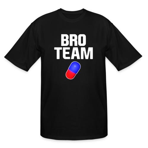 Bro Team White Words Logo Women's T-Shirts - Men's Tall T-Shirt