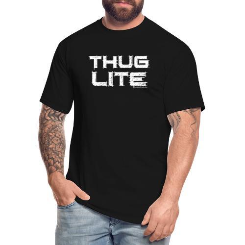Thug Lite WHT.png - Men's Tall T-Shirt