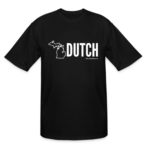 Michigan Dutch (white) - Men's Tall T-Shirt