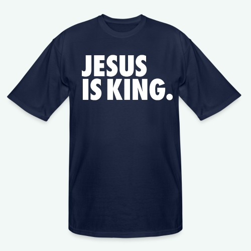 JESUS IS KING - Men's Tall T-Shirt