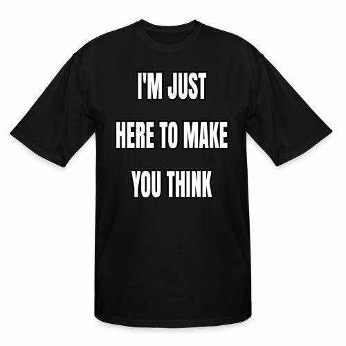IJHTMYT (White Font) - Men's Tall T-Shirt