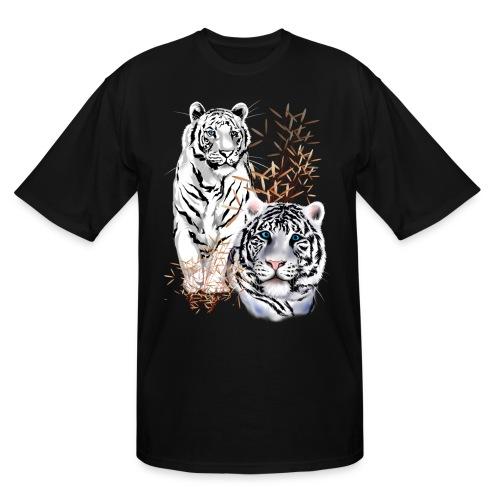 White Tigers - Men's Tall T-Shirt
