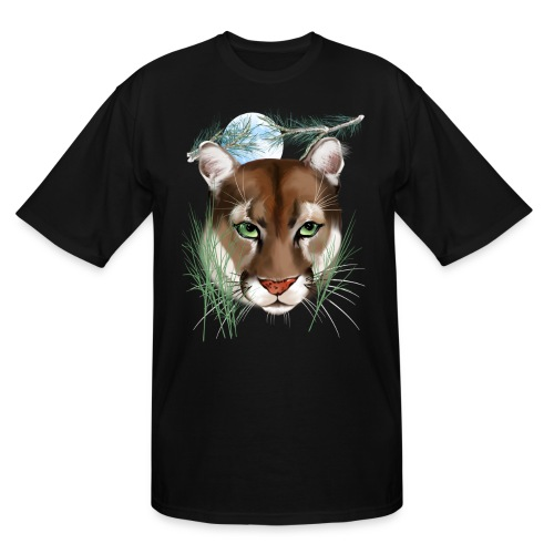Midnight Puma - Men's Tall T-Shirt
