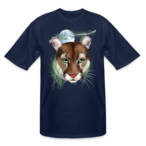 Midnight Puma - Men's Tall T-Shirt