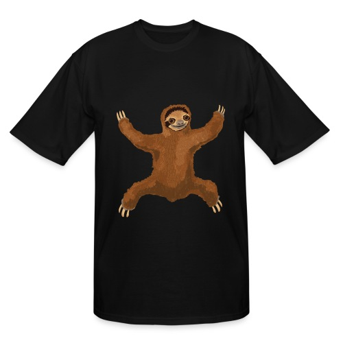 Sloth Love Hug - Men's Tall T-Shirt