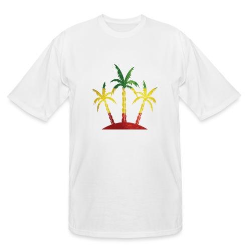 Palm Tree Reggae - Men's Tall T-Shirt