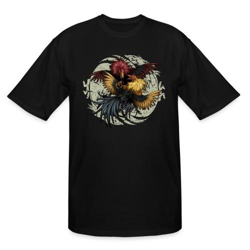 Ying Yang Gallos by Rollinlow - Men's Tall T-Shirt