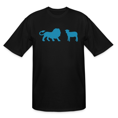 Lion and the Lamb - Men's Tall T-Shirt