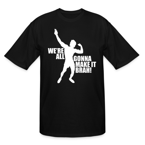 Zyzz Silhouette we're all gonna make it - Men's Tall T-Shirt