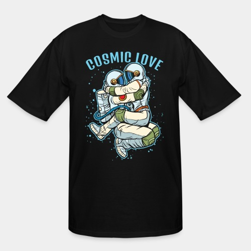 cosmic love astronaut space - Men's Tall T-Shirt