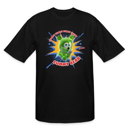 Funny Lucky Gummy Bear - Men's Tall T-Shirt