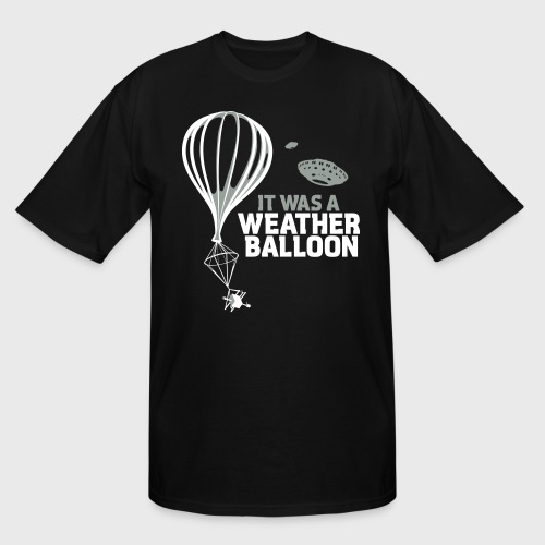 Weather Balloon UFO - Men's Tall T-Shirt