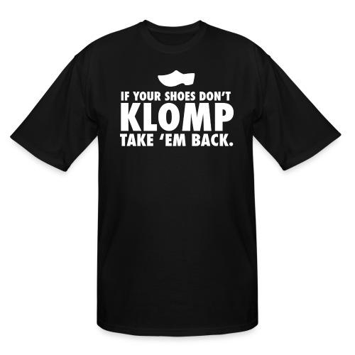 08 Klomp white lettering - Men's Tall T-Shirt