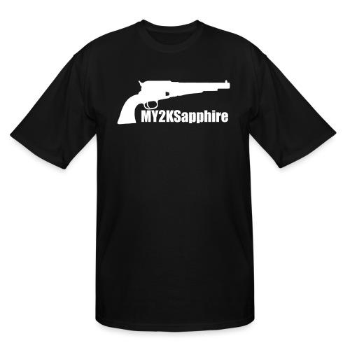 Remington 1858 Revolver - Men's Tall T-Shirt