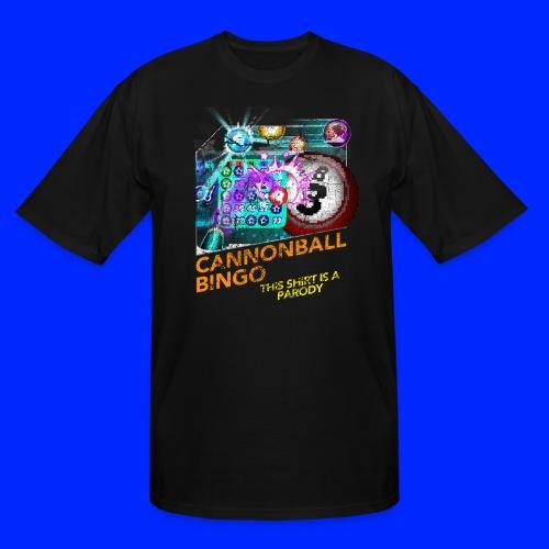Vintage Cannonball Bingo Box Art Tee - Men's Tall T-Shirt