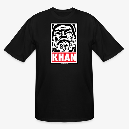 Obedient Khan - Men's Tall T-Shirt