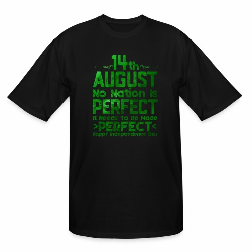 14th August Independence Day - Men's Tall T-Shirt