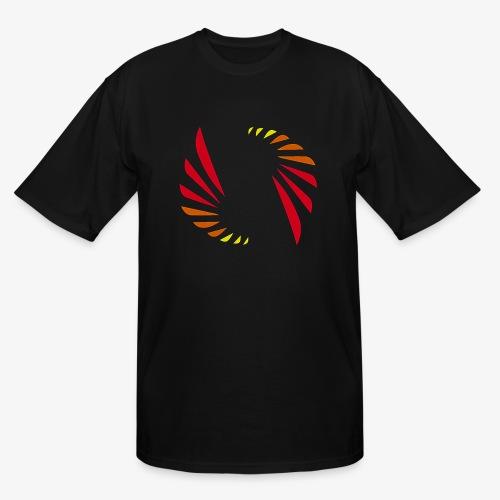 Hot Colors Logo - Men's Tall T-Shirt