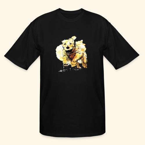 oil dog - Men's Tall T-Shirt