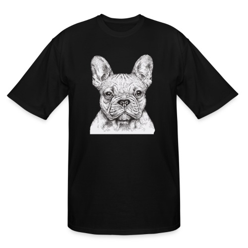 French Bulldog - Men's Tall T-Shirt