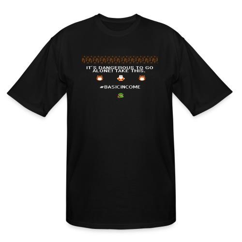 Legend of #Basicincome - Men's Tall T-Shirt