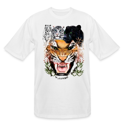 Big Cats - Men's Tall T-Shirt