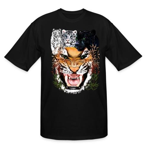 Big Cats - Men's Tall T-Shirt