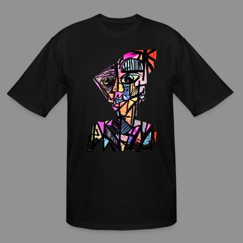 The Patchwork Man - Men's Tall T-Shirt