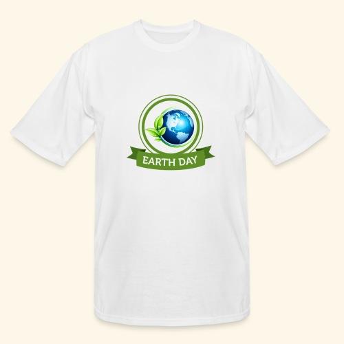 Happy Earth day - 3 - Men's Tall T-Shirt