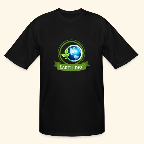 Happy Earth day - 3 - Men's Tall T-Shirt