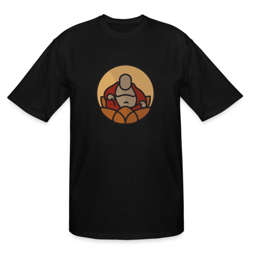 AMERICAN BUDDHA CO. COLOR - Men's Tall T-Shirt