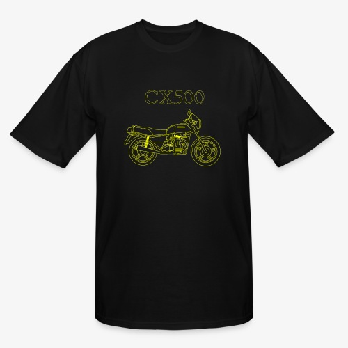 CX500 line drawing - Men's Tall T-Shirt