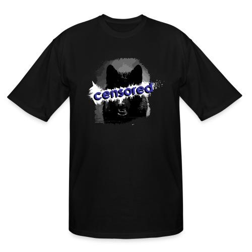 Wolf censored - Men's Tall T-Shirt