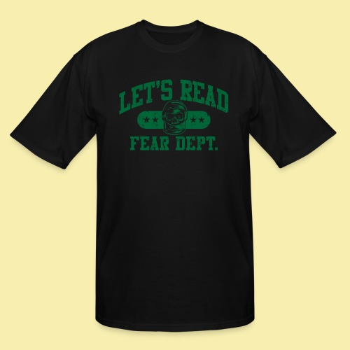 Athletic Green - Inverted for Dark Shirts - Men's Tall T-Shirt