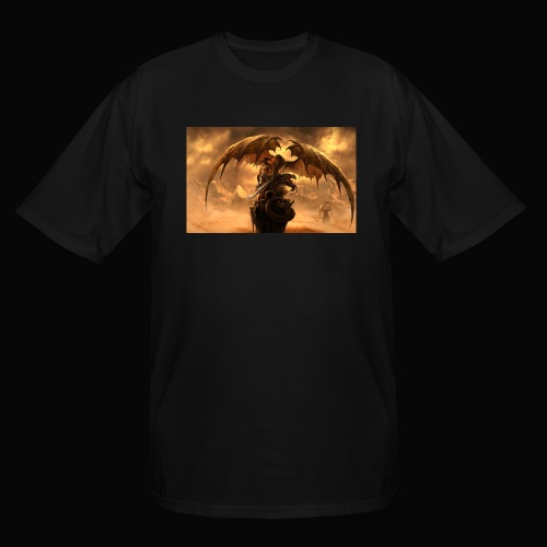 Dragon féroce - Men's Tall T-Shirt