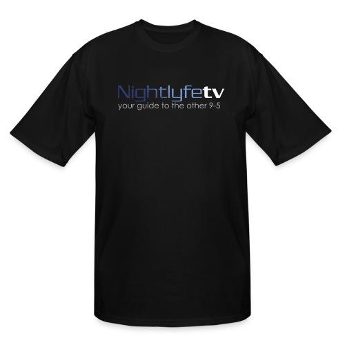 NTV Logo Full - Men's Tall T-Shirt