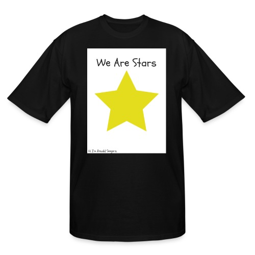 Hi I'm Ronald Seegers Collection-We Are Stars - Men's Tall T-Shirt