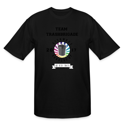 TrashBrigade 2017 - Men's Tall T-Shirt