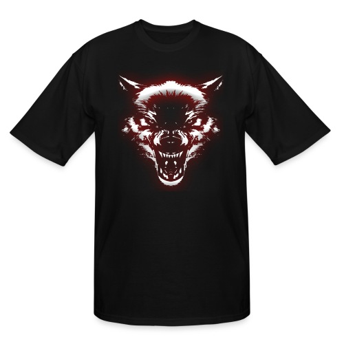 Angry Wolf - Men's Tall T-Shirt