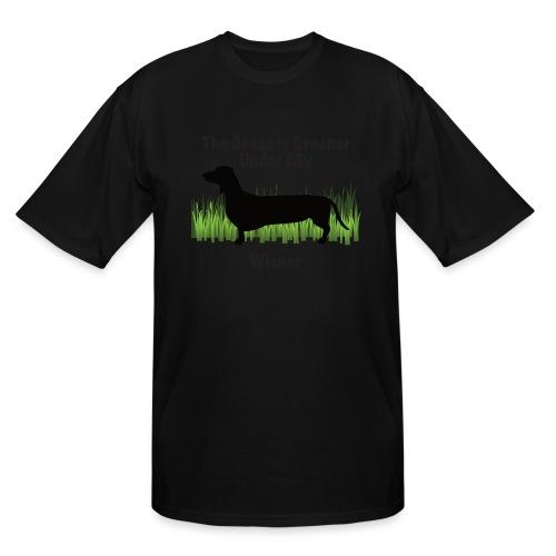 Wiener Greener Dachshund - Men's Tall T-Shirt