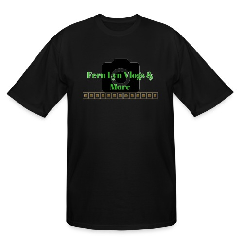 Fern Lyn Vlogs & More - Men's Tall T-Shirt
