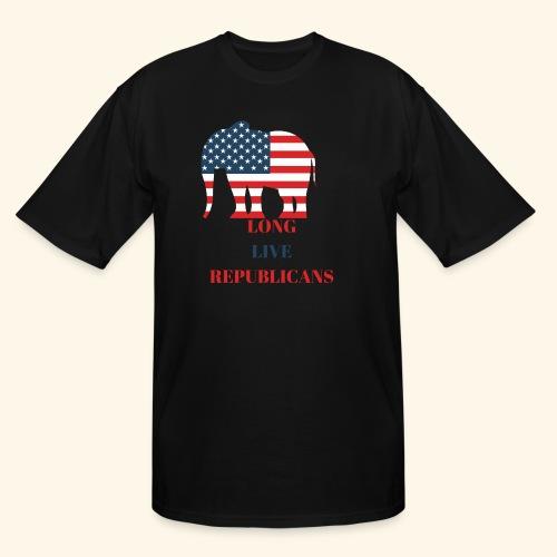 LONG LIVE REPUBLICANS - Men's Tall T-Shirt