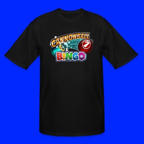 Vintage Cannonball Bingo Logo - Men's Tall T-Shirt