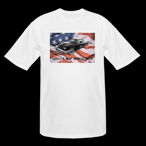 World's Best Muscle Cars - Men's Tall T-Shirt